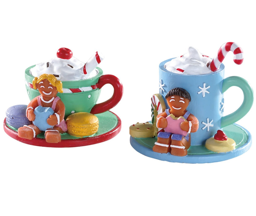 Lemax 83383 Cocoa & Cookies Christmas Village Accessory, Multicolored