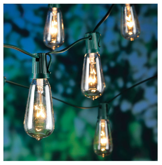 Living Accents 87385-71 Incandescent Edison Christmas String Light, 9' L