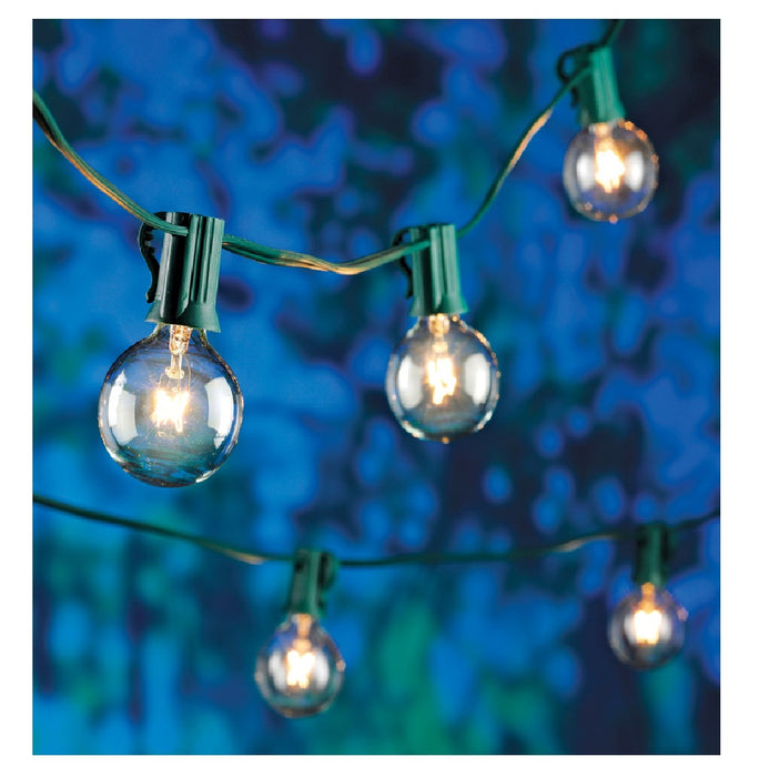 Living Accents 89450-71 Incandescent G40 Christmas String Light, 16.83' L