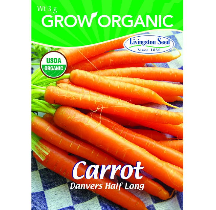Livingston Seed Y7045 Carrot Plantation Products Vegetable, 3g