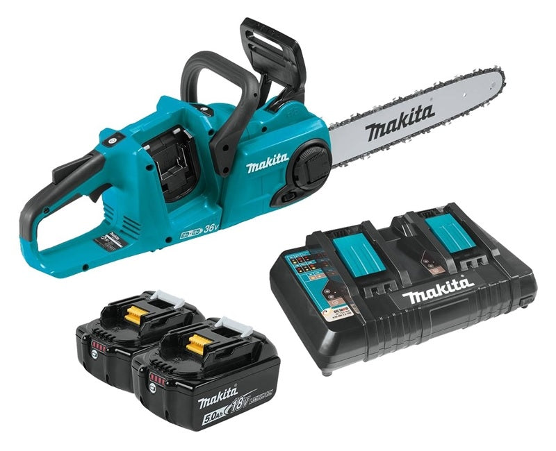 Makita XCU03PT Brushless Cordless Chain Saw Kit, 18 Volts