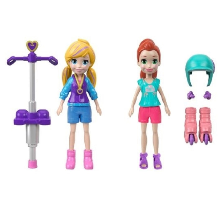 Mattel FTP67 Polly Pocket Posable Figures, Plastic