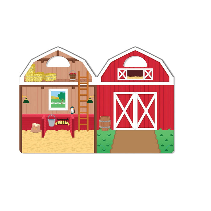 Melissa & Doug 9408 Farm Puffy Stickers Set, Plastic