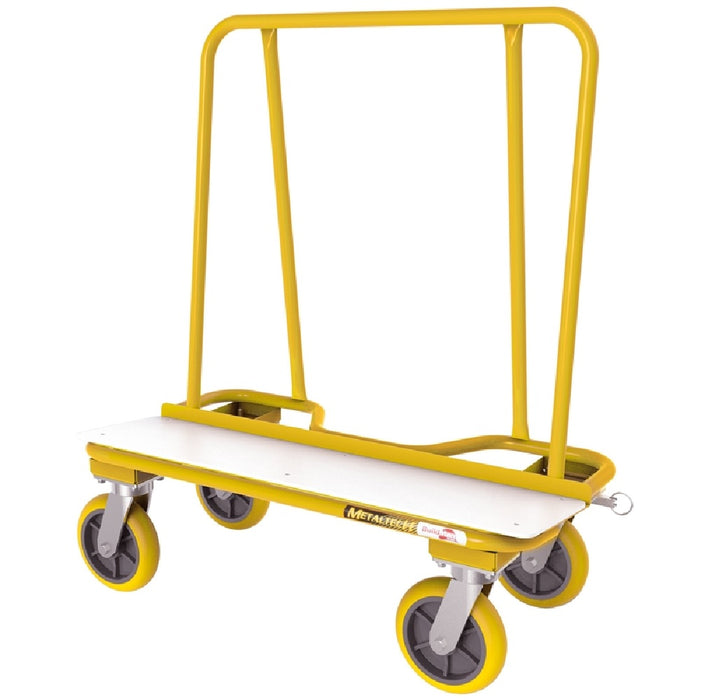 Metaltech I-BMD2131YGR 2000 Series Drywall Cart, Yellow, 38