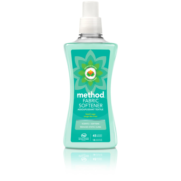 Method 16527 Fabric Softener, Beach Sage, 53.5 oz