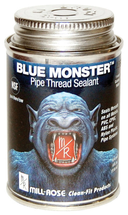 Mill Rose 76009 Blue Monster Pipe Thread Sealant, 4 Oz