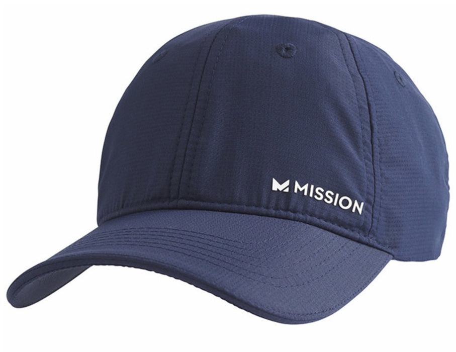Mission 109356 HydroActive Cooling Hat, Blue/White