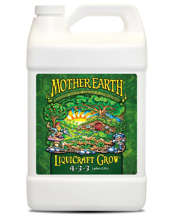 Mother Earth HGC733933 Liquicraft Grow Hydroponic Plant Nutrients, 1 Gallon