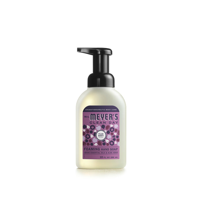 Mrs. Meyer's Clean Day 11338 Foaming Hand Soap, Plum Berry, 10 Oz