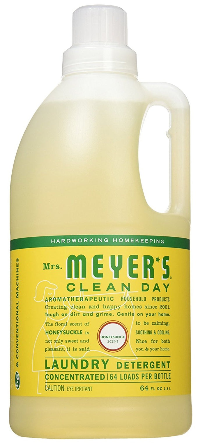 Mrs Meyers Clean Day 70112 High Efficiency Laundry Detergent, 64 Oz