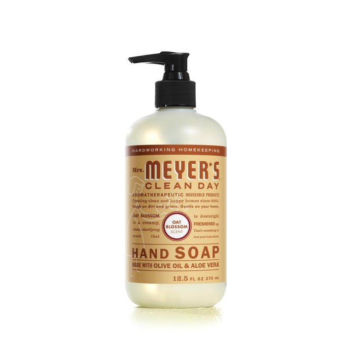 Mrs. Meyer's Clean Day 11329 Liquid Hand Soap, Oat Blossom, 12.5 oz