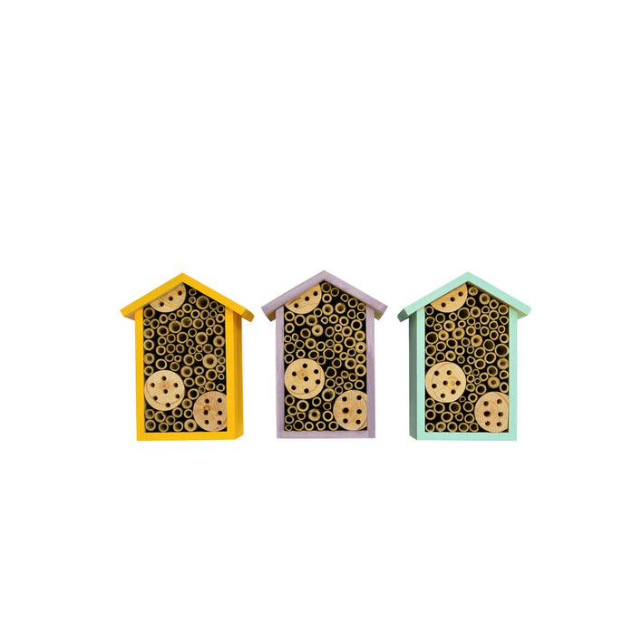 Nature's Way PWH1-AST Better Gardens Bee House, Assorted Colors