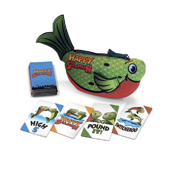 North Star Games NSG-600 Happy Planet Salmon Card Game, Multicolored