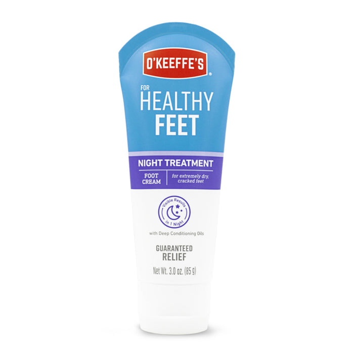 O'Keeffe's K3201502 For Healthy Feet Night Treatment Foot Cream, 3 Oz