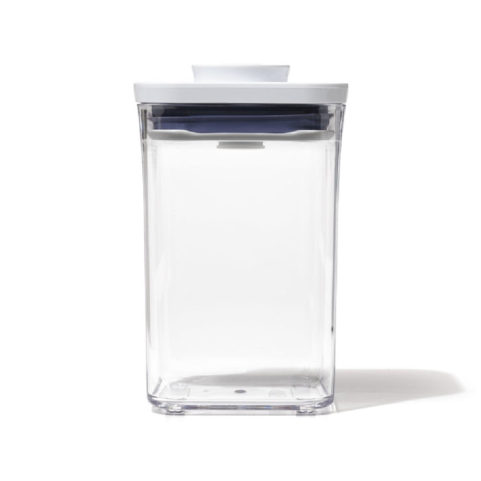 OXO 11234000 Good Grips Pop Container, Plastic, Clear and White