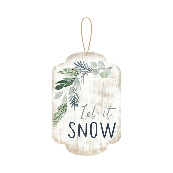 Open Road Brands 90180215 Christmas Hanging Sign, Multicolored