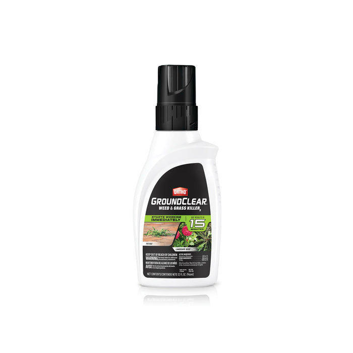 Ortho 4650306 GroundClear Concentrate Weed and Grass Killer, 32 Oz