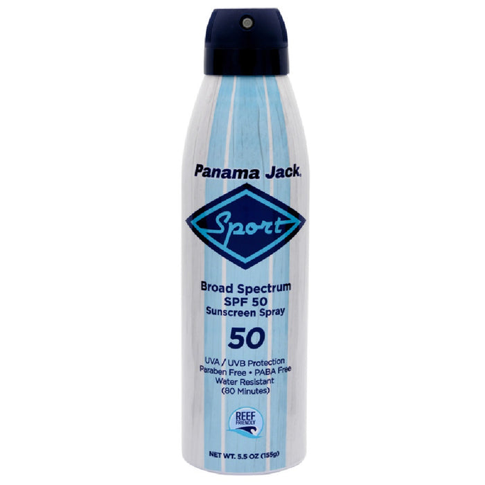 Panama Jack 4250 Sport Sunscreen Continuous Spray SPF 50, 5.5 Oz