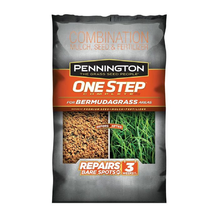 Pennington 100522285 One Step Complete Seed, Mulch & Fertilizer, 8.3 Lbs