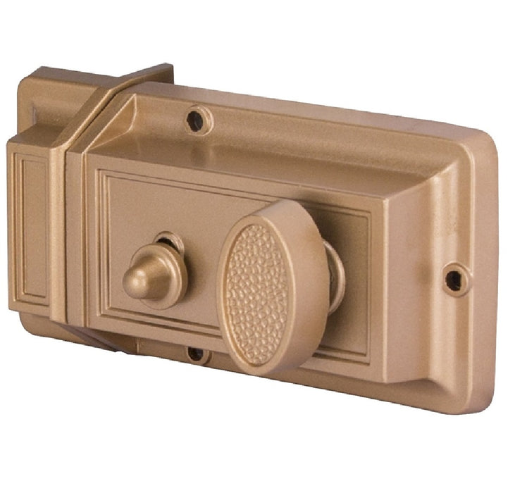 Prosource 6296453-PS Rim Night Latch, Brass