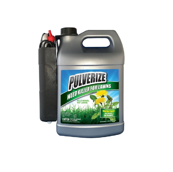 Pulverize PW-B-128-S Lawn Weed Killer, 1 Gallon