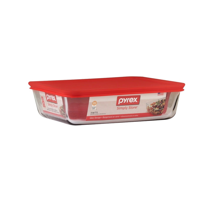 Pyrex 1069618 Simply Store 6 cups Food Storage Container