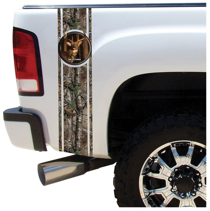 Realtree RT-BB-WT-XT Duck Bed Band Decal Kit, 10