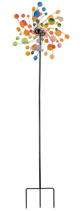 Regal Art & Gift 11749 Kinetic Outdoor Spinner Garden Stake, Multi-Color