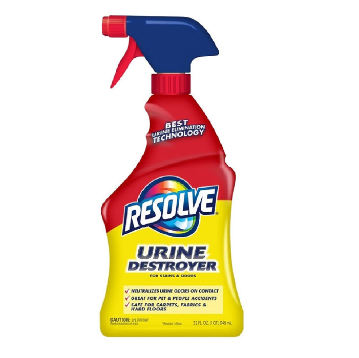 Resolve 99499 Urine Destroyer For Stain & Odors Remover, 22 Oz
