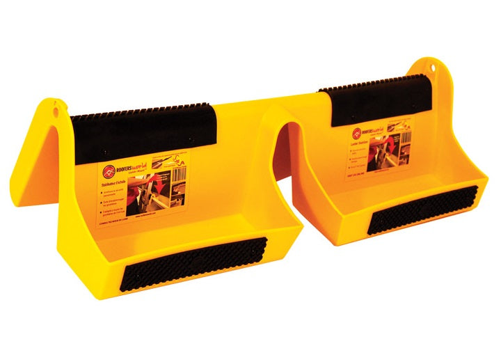 Roofers World RT-LM-6 Pac Ladder Stabilizer, Plastic Polymer, Yellow