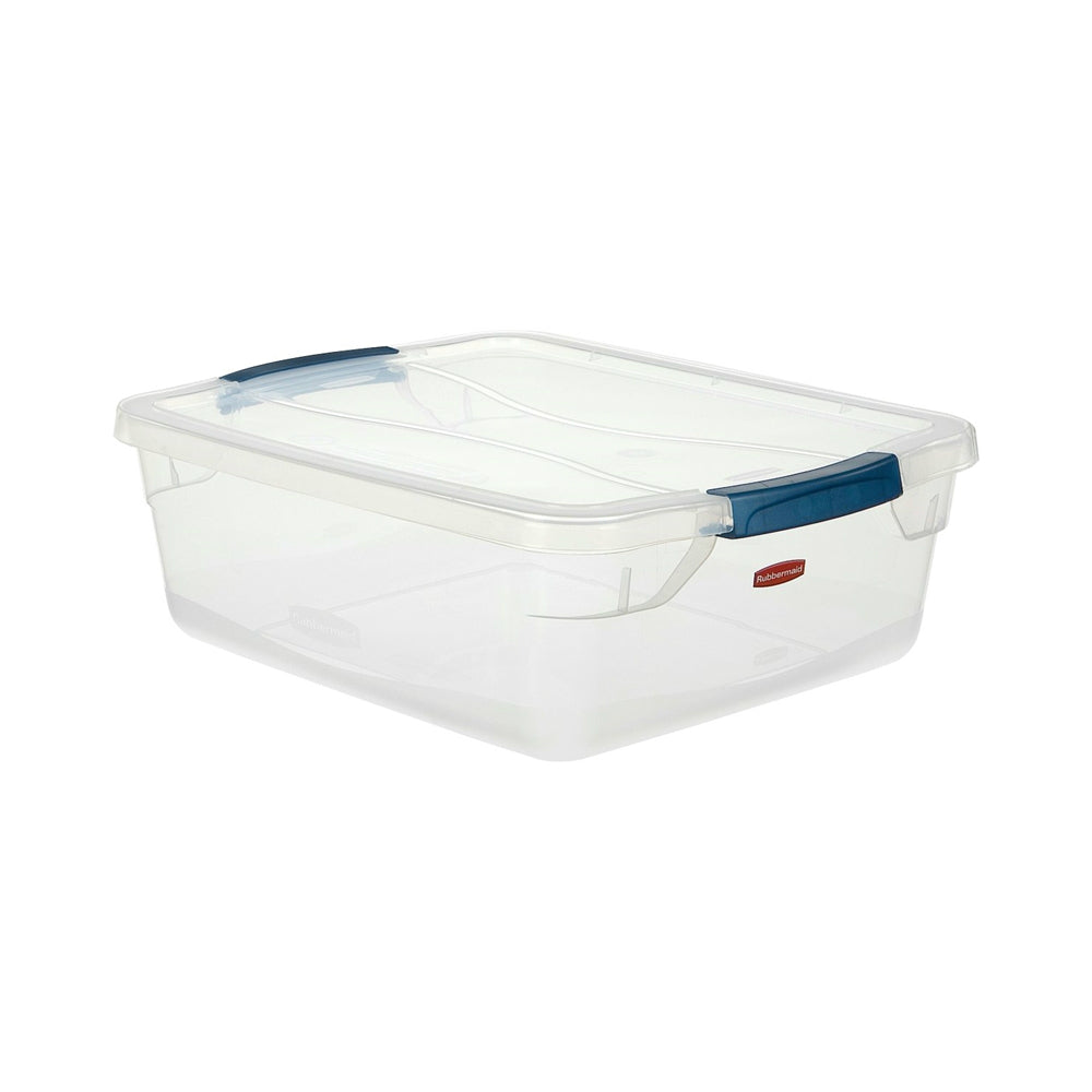 Rubbermaid Rmcc160000 Clever Store Storage Container, 15 Quart