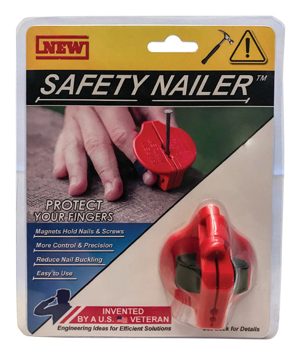 Safety Nailer 186000002900 Nail Starter, Red, 2