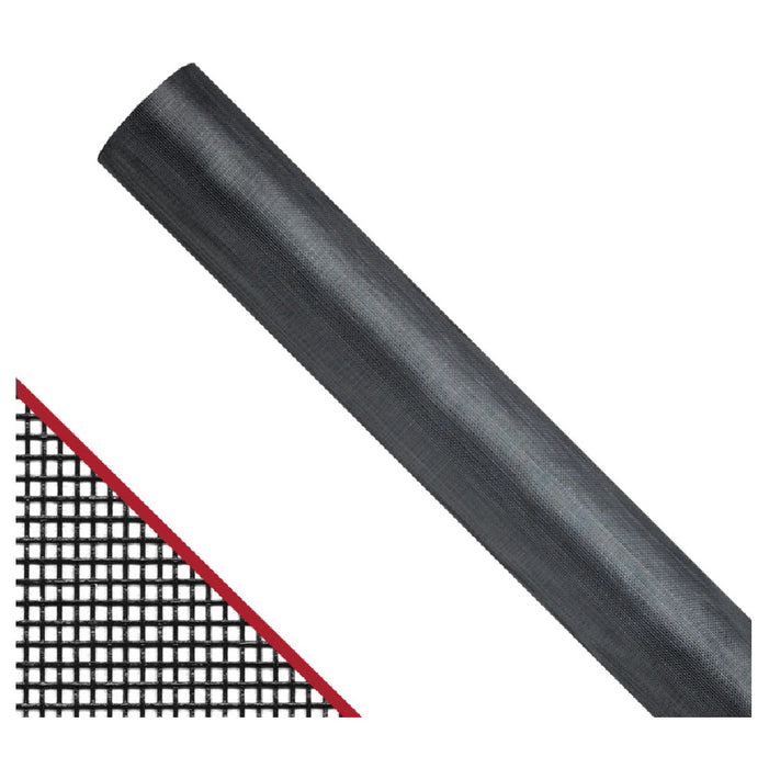 Saint-Gobain FCS10322-M Extra Strength Window Screen, 48 In x 100 Ft