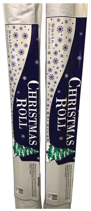 Santas Forest 81500 Christmas Roll, 8' x 36
