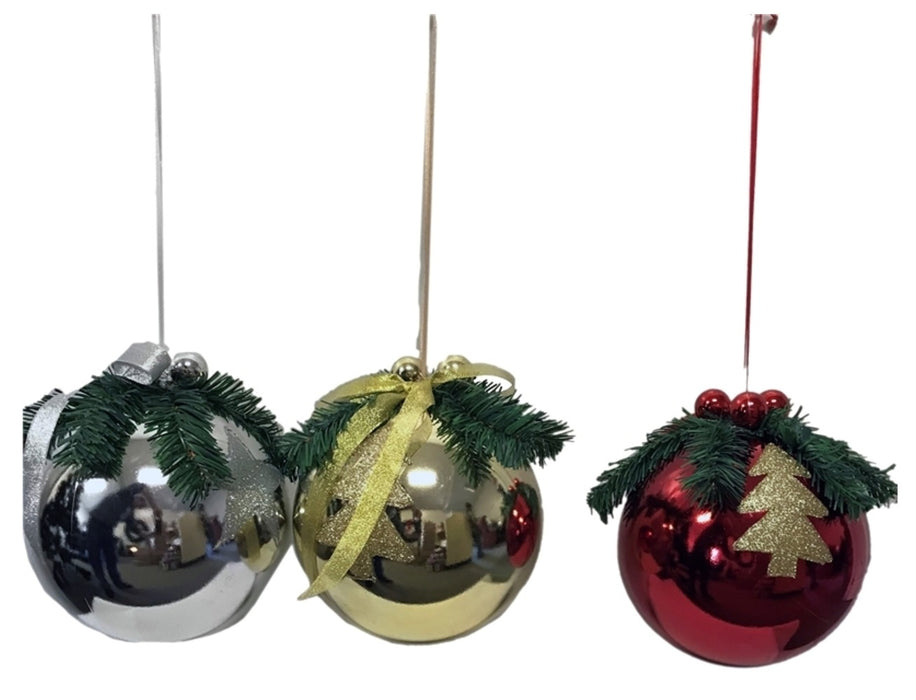 Santas Forest 99931 Shatterproof Christmas Decorative Ball, Assorted Color