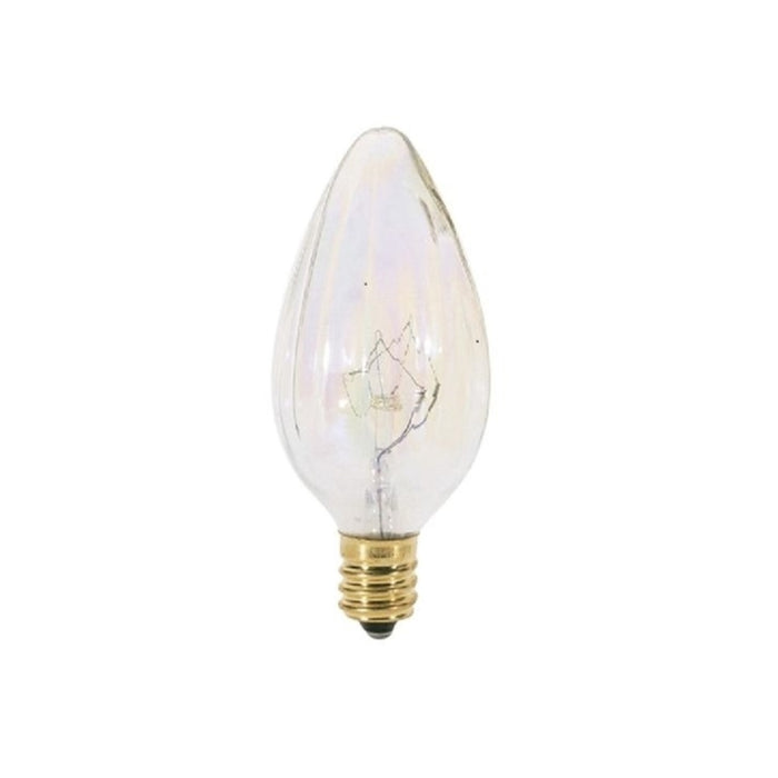Satco S3373 F10 Decorative Incandescent Bulb, 25 Watts, 120 Volt