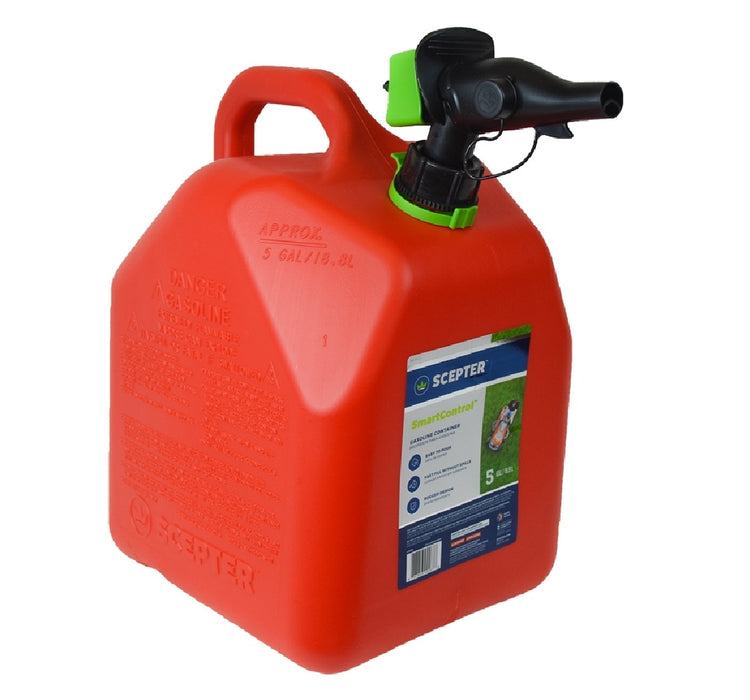 Scepter FR1G501 Gas Can, Red, 5 Gallon