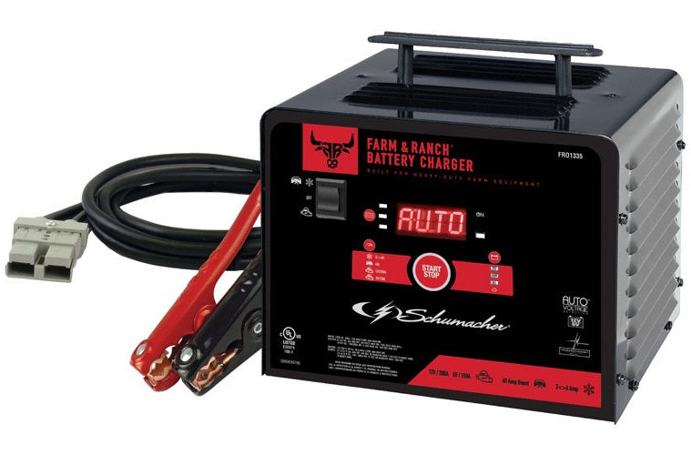 Schumacher FR01335 Automatic Battery Charger, 12 Volts, 200 Amps