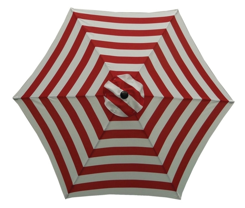 Seasonal UM90BKOBD27/WT Trends Market Umbrella, 9'