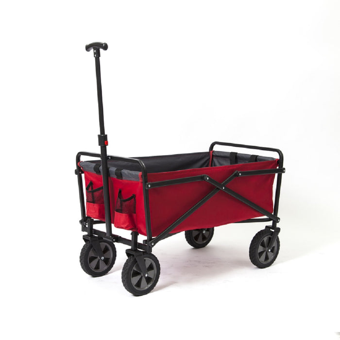 Seina SUW-300 Road Warrior Utility Cart, Polyester Fabric, Red