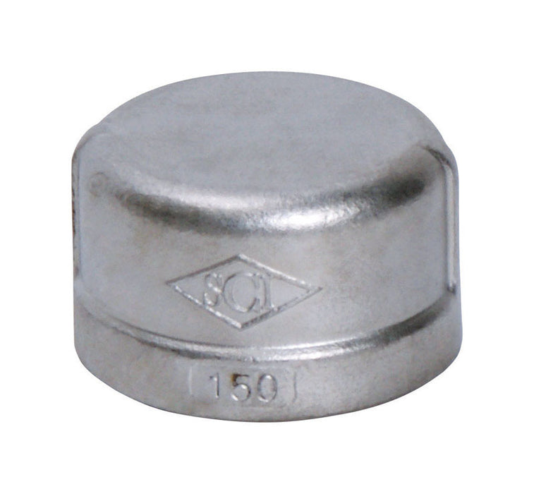 Smith Cooper S3014C 010B Cap, Stainless Steel, 1