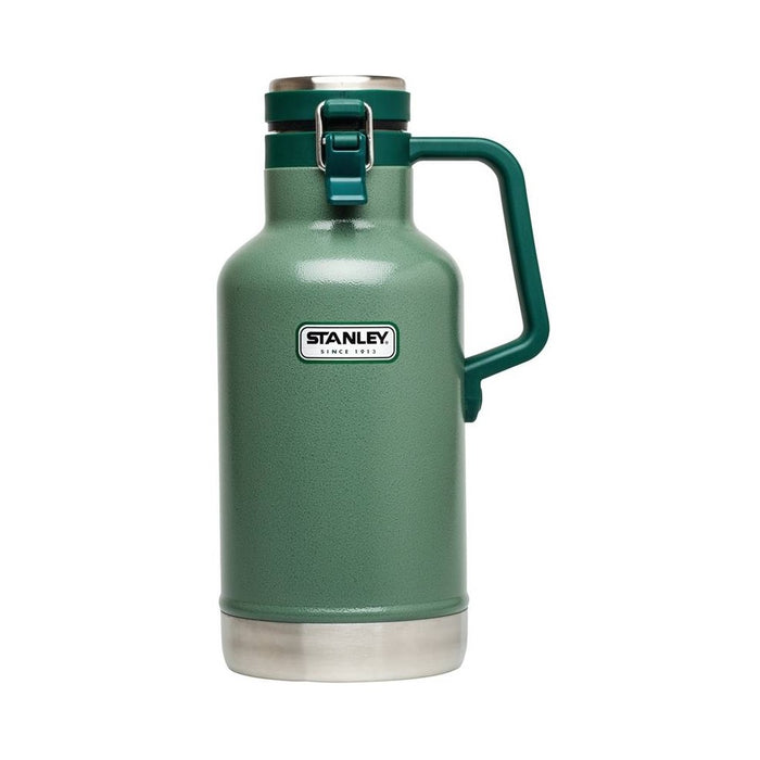 Stanley 10-01941-063 Vacuum Growler, Stainless Steel, 64 Oz.