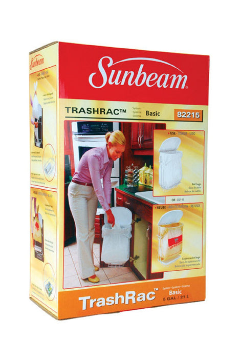 Sunbeam 82215 TrashRac Trash Rack, 5 Gallon, Plastic