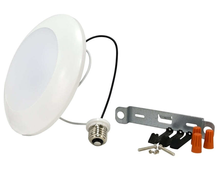 Sylvania 75046 Ultra LED Recessed & Surface Mount Downlight Kit, 13 Watts, 120 Volt