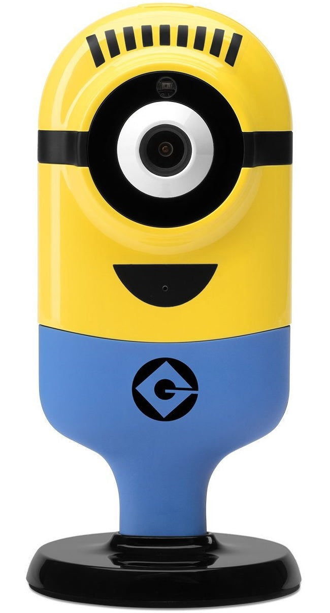 Tend Secure Tp0013 Minion Flexi Cam Carl Delighted Security Camera, Yellow