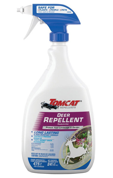 Tomcat 0491210 Deer Animal Repellent, Liquid, 24 Oz