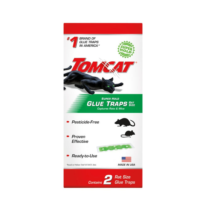Tomcat 0362910 Rat Glue Trap, Pack of 2