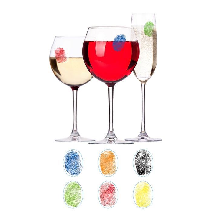 Urban Trend UTU3BR0196 Barbuzzo Finger Marks Drink Markers, Assorted Colors