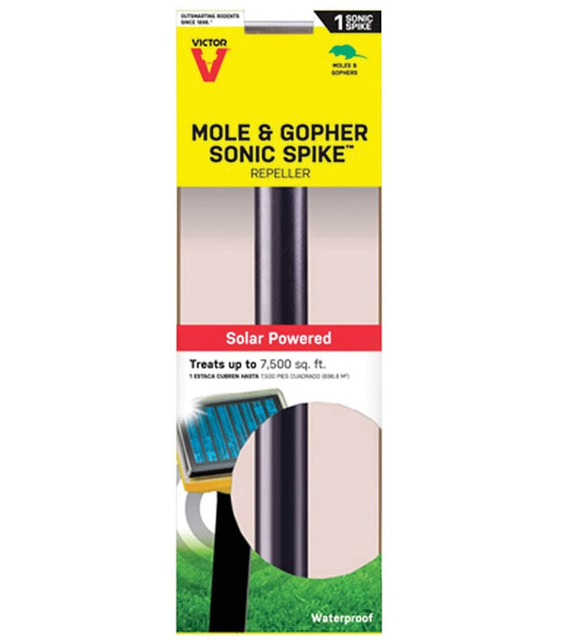 Victor M9014 Gophers & Moles Sonic Spike Electronic Pest Repeller