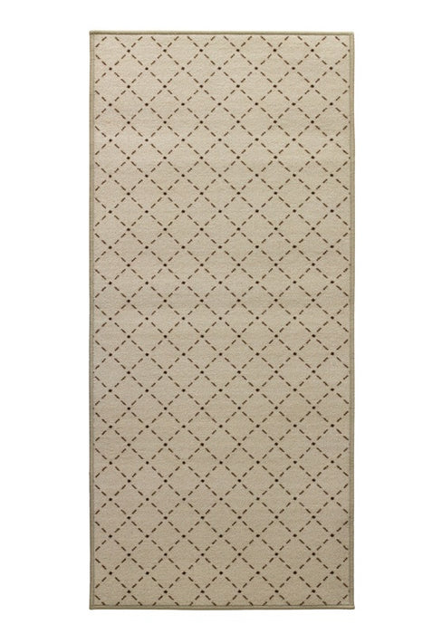 WJ Dennis SOYBE2635 Soybean Floor Mat, Brown/Tan, Nylon, 26